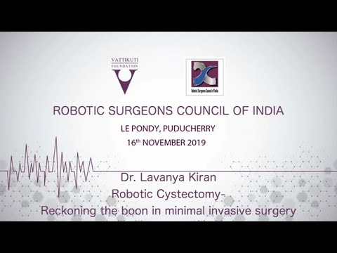 Robotic Cystectomy- Reckoning the boon in minimal invasive surgery