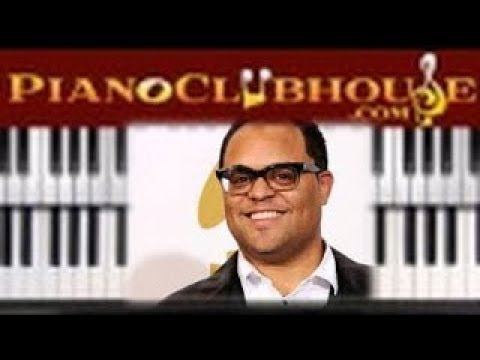 NOT FORGOTTEN - Israel Houghton (easy piano tutorial lesson free)