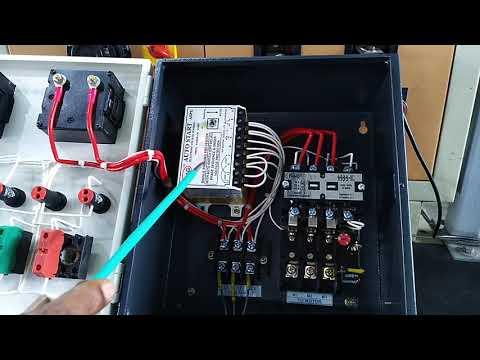 Three Phase Analog Control Panel