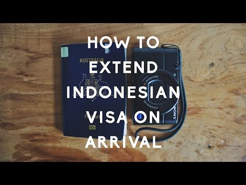 How To Extend Indonesian Visa On Arrival In Bali (60 Days Total)