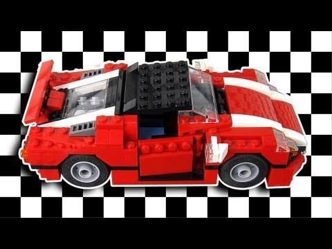 Vidéo LEGO Creator 5867 : La voiture de rallye