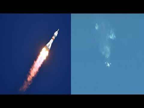 Soyuz MS-10 Rocket Launch Failure, Crew Safe After Emergency Landing