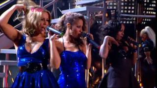 [HD] Sugababes & Taio Cruz - She's Like A Star / Girls (MOBOs 2008)