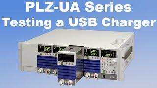Testing A USB Charger Using A Kikusui Electronic Load