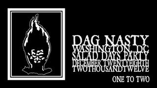 Dag  Nasty - One To Two (Black Cat 2012) 720p