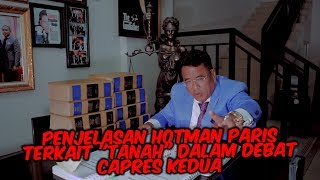 Download Video Debat Tanah Prabowo di Debat capres ke 2? Hotman paris terlibat? Heboooh 4 kasus raksasa MP3 3GP MP4