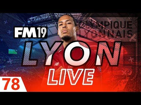 Football Manager 2019 | Lyon Live #78: Speedrunning Football Manager #FM19