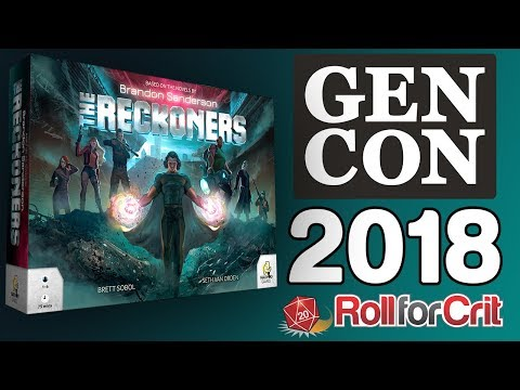 The Reckoners Impressions | Gen Con 2018