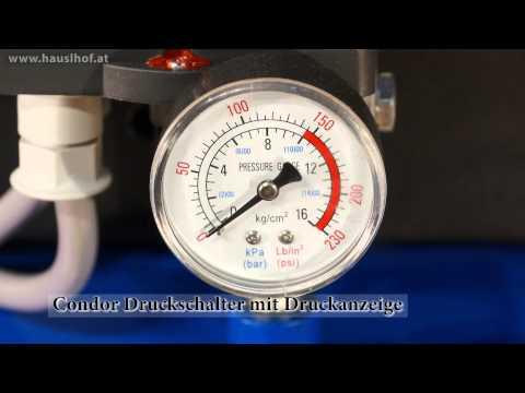 Werkstatt Kompressor Hauslhof KO880-270-5.5 für Druckluft Geräte, Maschinen und Lackieranlagen