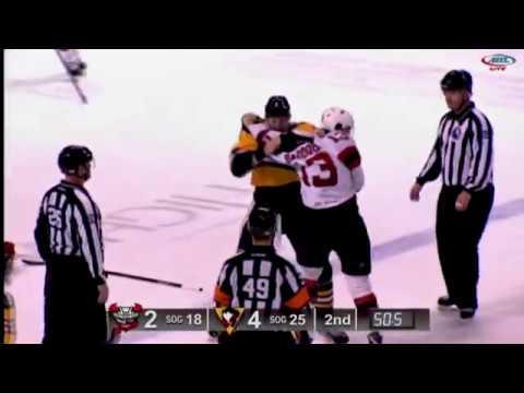 Brandon Baddock vs Andrey Pedan