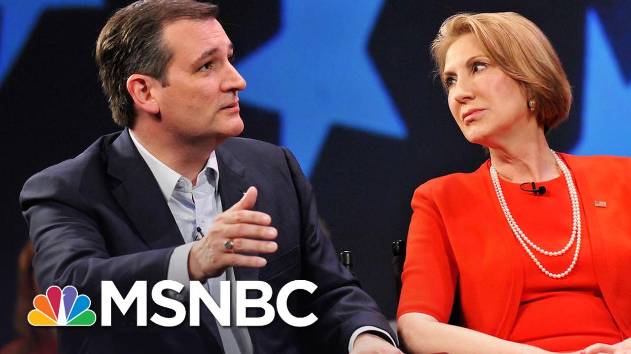 Ted Cruz Names Carly Fiorina As Running Mate | MSNBC thumbnail