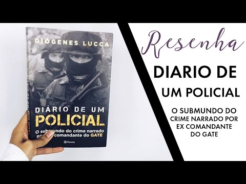 Video Resenha: Diario de um policial | Maria Venâncio