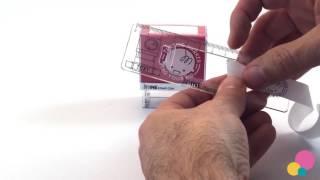 Comment Utiliser la Règle d'Alignement - Tampon MINE - Instructions