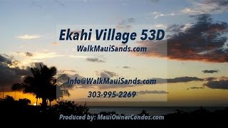 preview picture of video 'Wailea Ekahi Village 53D - Maui Vacation Rental Condo'