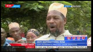 Msambweni residents express their excitement after aspirant Suleiman Dori gets certified by ODM