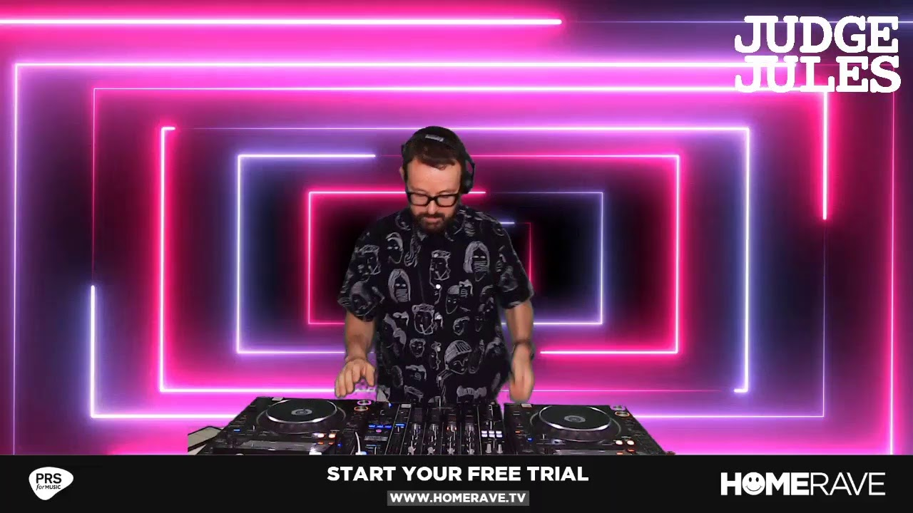 Judge Jules - Live @ *Global Gathering Theme* Livestream 2021