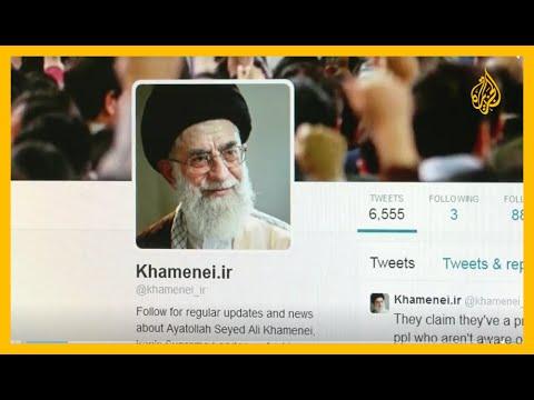 خامنئي ينشر صورة لاعب غولف يشبه ترمب ويتعهد بالثأر وتويتر يعلق حسابه