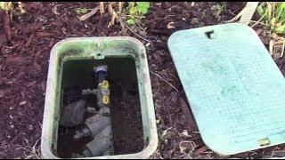 Starting up your sprinkler system in the spring (de-winterize)