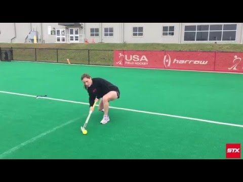 Aerial Field Hockey Tip with USA Field Hockey Star