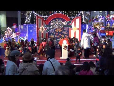 2012 新梅田シティ クリスマス まいにち点灯式 11.27