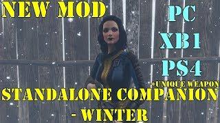 Fallout 4: New Mod - Companion Mod + Unique Weapon (PS4, XB1, PC)