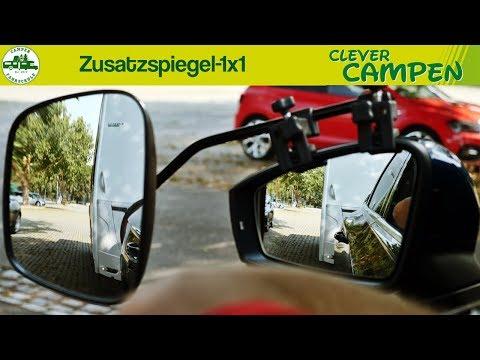 Das 1x1 der Zusatzspiegel - Die Camper Fahrschule | Clever Campen