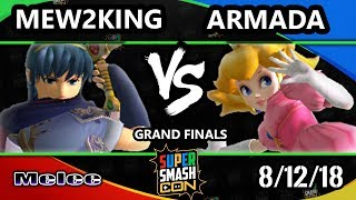 SSC 2018 SSBM - [A] | Armada (Peach) Vs. FOX MVG | Mew2King (Marth) - Smash Melee Grand Finals