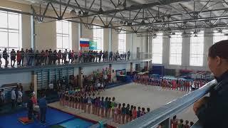 Открытие Первенство Амурской  области по спортивной гимнастики.