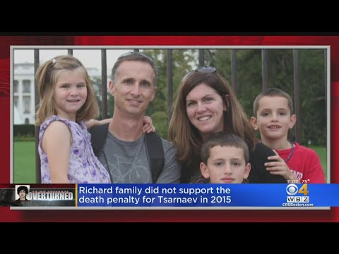 Family Of Martin Richard Opposed Death Penalty For Dzhokhar Tsarnaev