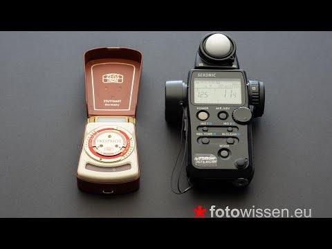 * Richtige Belichtungsmessung - Belichtungsmesser - Zu helle Fotos, zu dunkle Fotos *