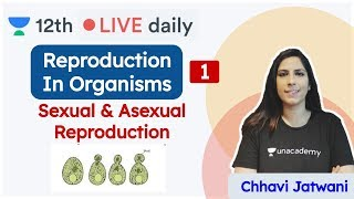 CBSE Class 12 Biology: Reproduction In Organisms | Biology | Unacademy Class 11 & 12 | Chhavi - Download this Video in MP3, M4A, WEBM, MP4, 3GP