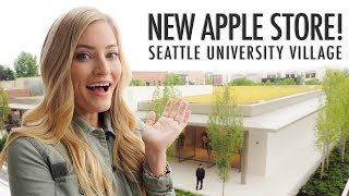Massive New Apple Store Tour! Seattle University Village