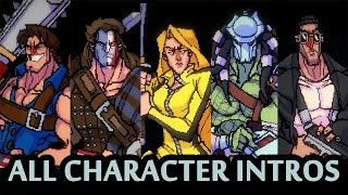 BROFORCE - All CharacteR Intros and References (Oct. 2015)