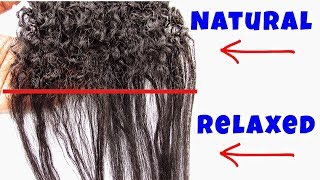 How to: TRANSITION to Natural Hair (multiple ways) | alexuscrown