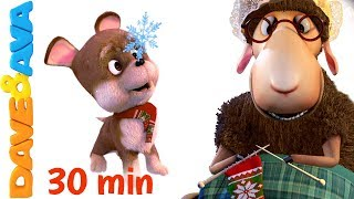 😜  3D Kids Nursery Rhymes | Songs Collection | Kindergarten Cartoons | Baby Songs by Dave and Ava😜