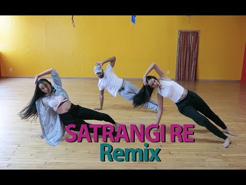 Satrangi Re Remix | Bharatnatyam Bollywood Fusion