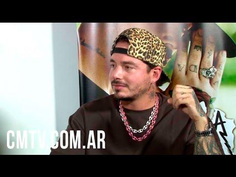 J Balvin video Entrevista Argentina -  Diciembre 2016