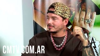J Balvin - Entrevista CM Argentina 2016