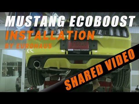 FORD MUSTANG Ecoboost W/ IPE F1 exhaust system