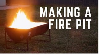 Making a Fire Pit (with a 44 Gallon Drum)