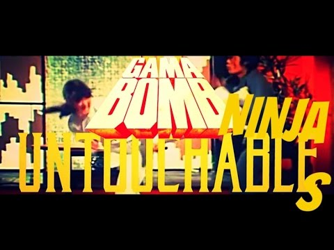 GAMA BOMB - Ninja Untouchables/Untouchable Glory (2015) // Official Music Video // AFM Records online metal music video by GAMA BOMB