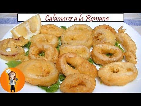 Calamares a la Romana y Bocadillo de Calamares | Receta de Cocina en Familia