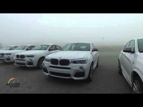 2016 BMW X4 M40i first look at Laguna Seca