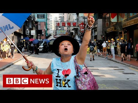 Hong Kong scraps law that sparked protests  - BBC News