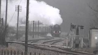 preview picture of video '70000 Britannia at Santon Downham - 23rd March 1996'