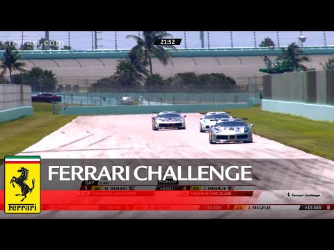 Ferrari Challenge North America – Homestead-Miami, Trofeo Pirelli Race 1