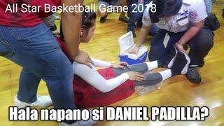 NAKUNAN: Daniel Padilla pinulikat sa Basketball Game