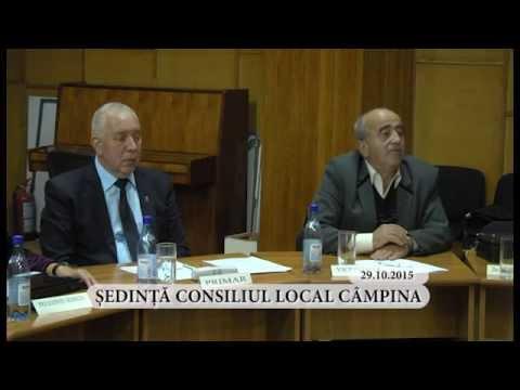 Sedinta ordinara a Consiliului Local Campina din luna octombrie 2015 – partea a VI-a