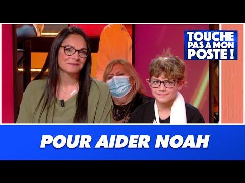 Cyril Hanouna fait un don de 10 000 euros à Noah, atteint du syndrome d'Adams Oliver