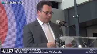 preview picture of video '[GRAND TARBES] Inauguration du Méridien Ibos (9 juillet 2014)'
